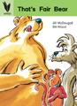 That's Fair Bear [Book Cover]