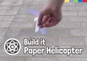 Build It: Paper Helicopter