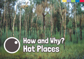 How & Why: Hot Places [Book Cover]